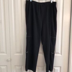 Chicos Zynergy size 3 workout pants. Elastic waist